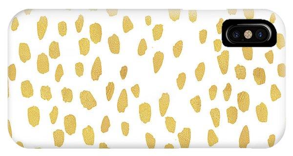 Minimalist Is Gold IPhone Case
