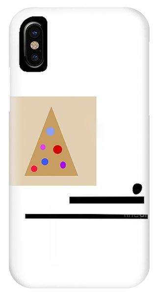 Minimalistic Christmas IPhone Case
