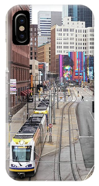 Minneapolis 5th Street IPhone Case