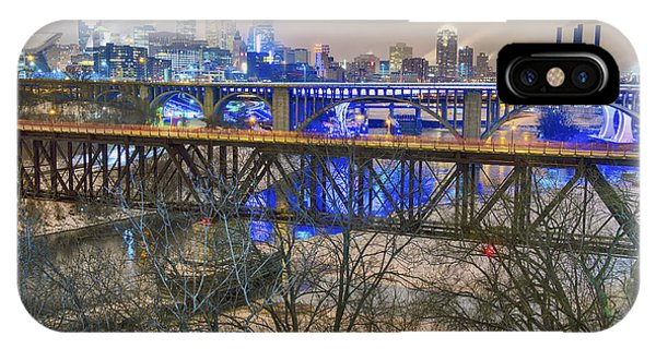 Minneapolis Bridges IPhone Case