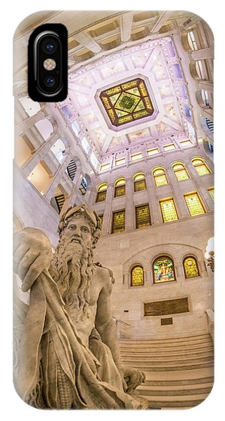 Minneapolis City Hall Rotunda, Father Of Waters IPhone Case
