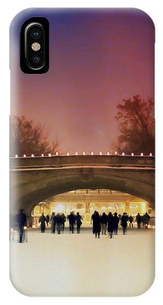 Minneapolis Loppet At Night IPhone Case