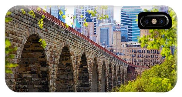 Minneapolis Stone Arch Bridge Photography Seminar IPhone Case