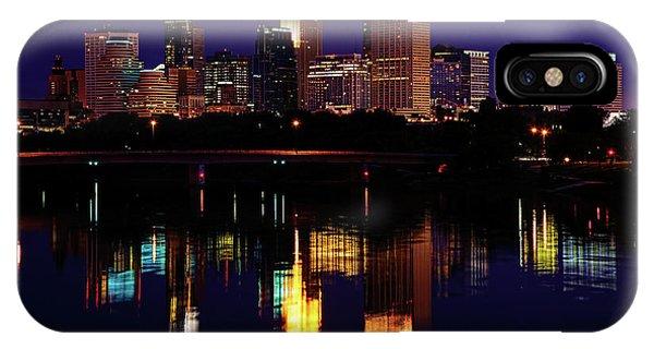 Mississippi River iPhone Case - Minneapolis Twilight by Rick Berk