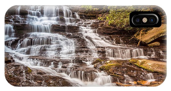 IPhone Case featuring the photograph Minnehaha Falls by Michael Sussman