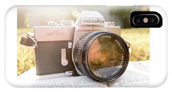 Minolta Sr-t-102 IPhone Case