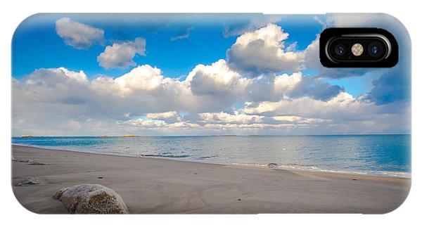 Minot Beach In Scituate Massachusetts  IPhone Case