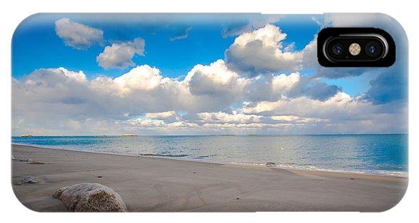 Minot Beach In Scituate Massachusetts  IPhone Case