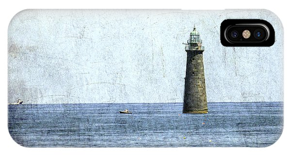 Minot Ledge Light IPhone Case