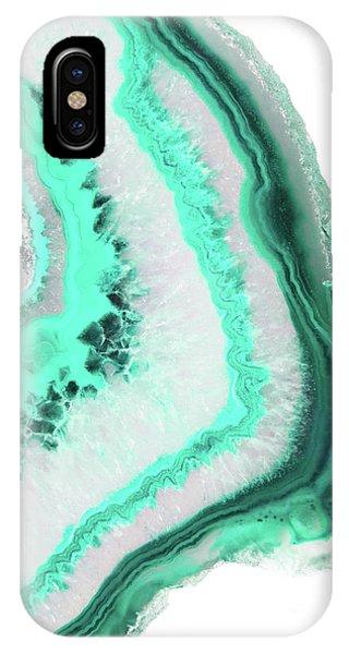 Mint Agate IPhone Case