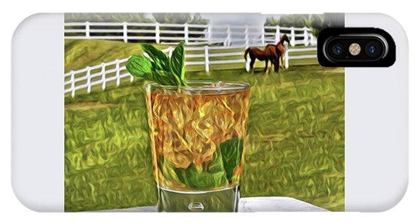 Mint Julep Kentucky Derby IPhone Case