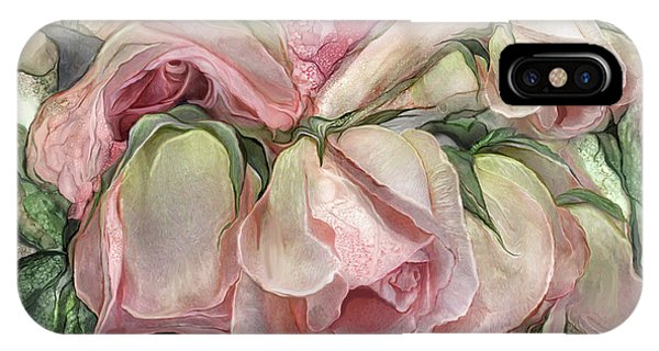 Miracle Of A Rose Bud - Pink IPhone Case