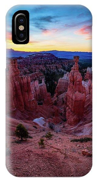 Beautiful Sunrise iPhone Case - Thor's Light by Edgars Erglis