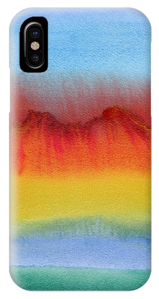 IPhone Case featuring the painting Miraggio by Bee-Bee Deigner