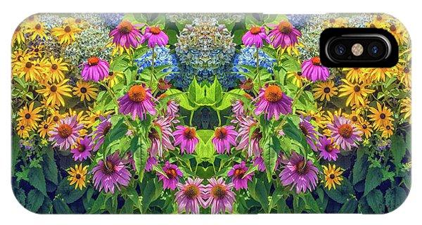 Flowers Pareidolia IPhone Case