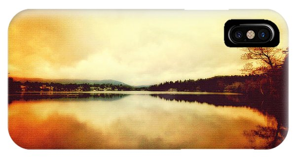 Mirror Lake At Sunset IPhone Case