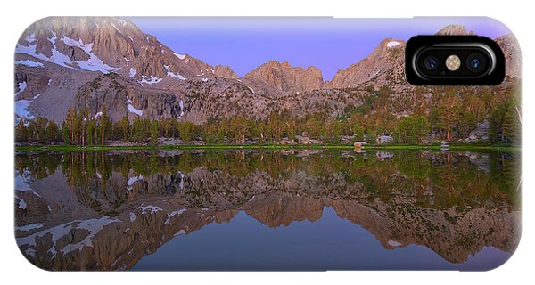 Kings Canyon iPhone Case - Mirror, Mirror by Brian Knott Photography