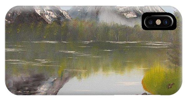 Mirror Mountain IPhone Case