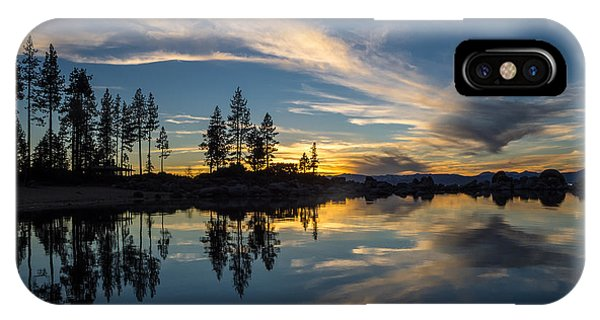 Mirror Sunset IPhone Case