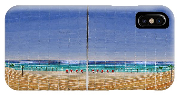 Mirror Twin Beaches IPhone Case