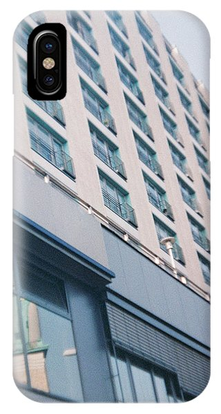 Mirrored Berlin IPhone Case