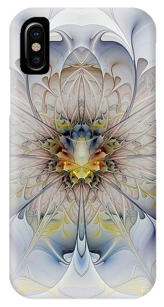 Mirrored Blossom IPhone Case