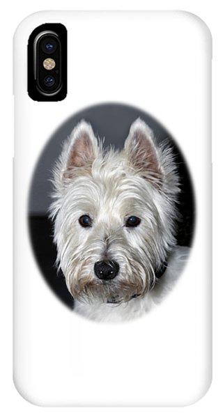 Mischievous Westie Dog IPhone Case