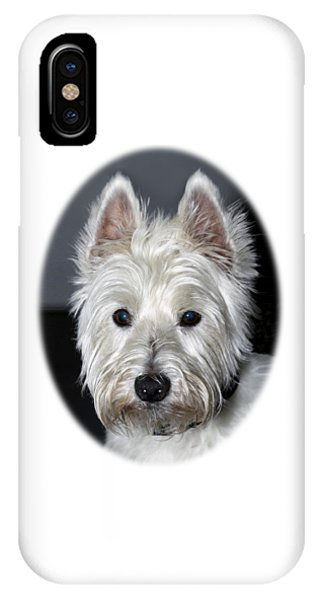 Mischievous Westie Dog IPhone Case
