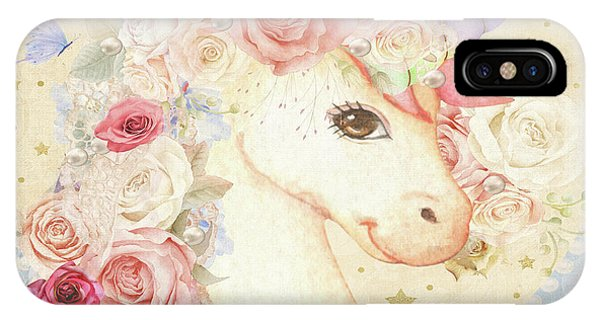 Unicorn iPhone Case - Miss Lolly Unicorn by Pink Forest Cafe