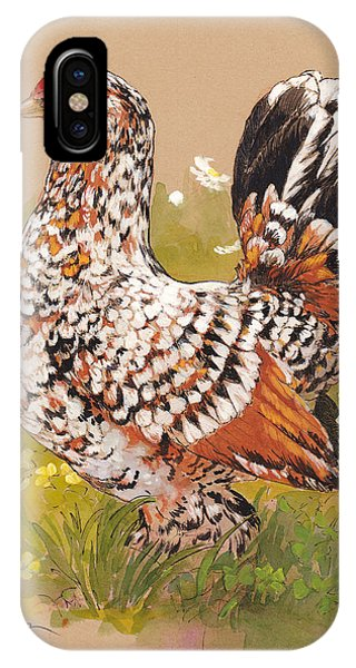 Barnyard iPhone Case - Miss Millie Fleur by Tracie Thompson
