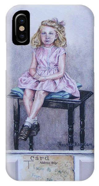 Missing Daddy, Devonshire 1940 IPhone Case