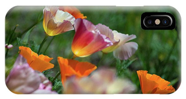 Mission Bell Poppies IPhone Case
