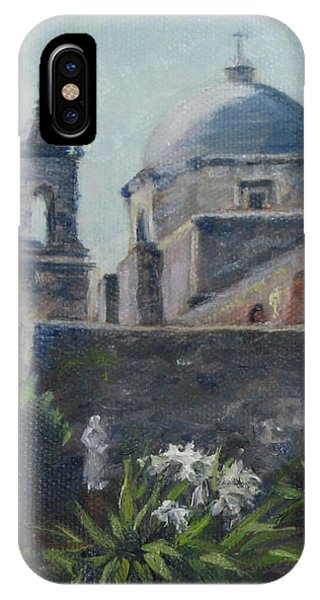 Mission Concepcion In San Antonio IPhone Case