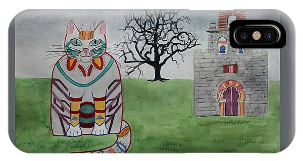 Mission Espada Cat IPhone Case