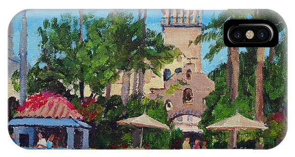 Mission Inn On A Sunny Day IPhone Case