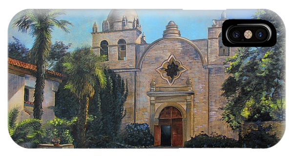 Mission San Carlos In Carmel By The Sea IPhone Case