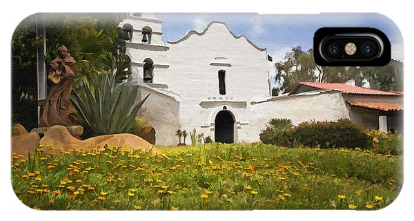 Mission San Diego De Alcala IPhone Case