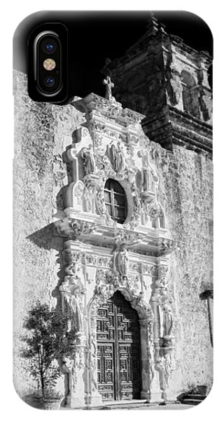 Mission San Jose - Infrared IPhone Case