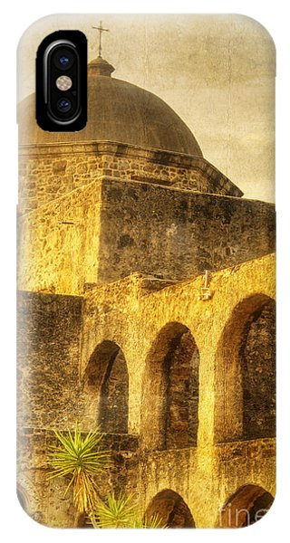 Mission San Jose San Antonio Texas IPhone Case