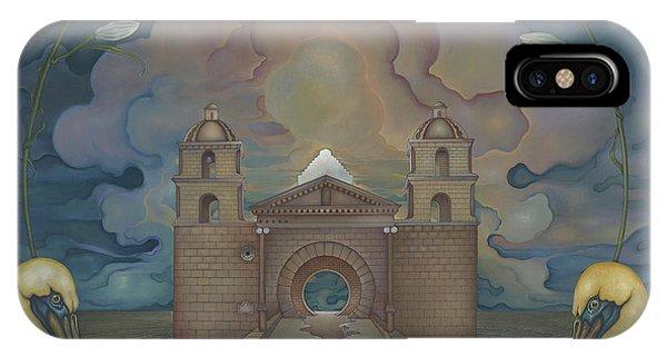 Mission Santa Barbara IPhone Case