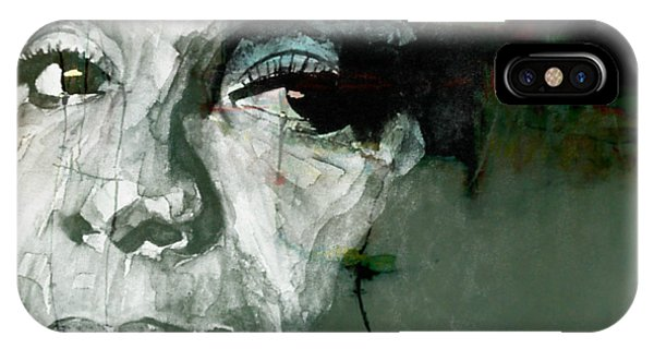 Blues Legends iPhone Case - Mississippi Goddam by Paul Lovering
