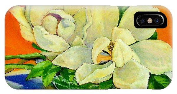 Mississippi Magnolias IPhone Case