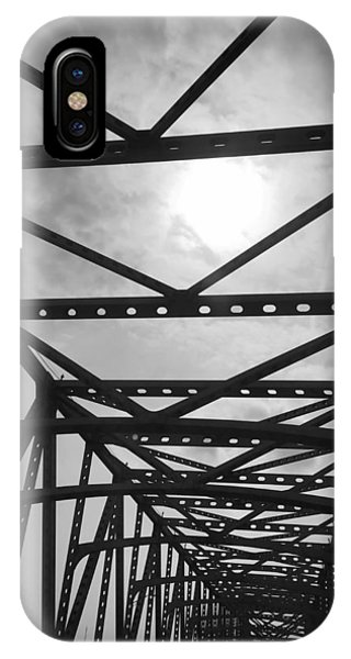 Mississippi River Bridge IPhone Case