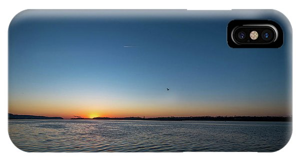 IPhone Case featuring the photograph Mississippi River Sunrise by Matthew Chapman