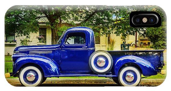 Missoula Blue Truck IPhone Case