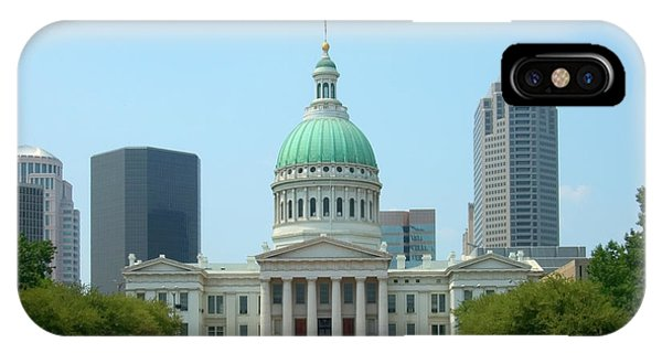 Capitol Building iPhone Case - Missouri State Capitol Building by Mike McGlothlen