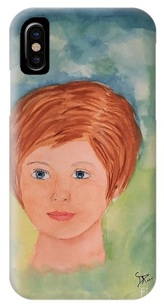 IPhone Case featuring the painting Missy by Donald Paczynski