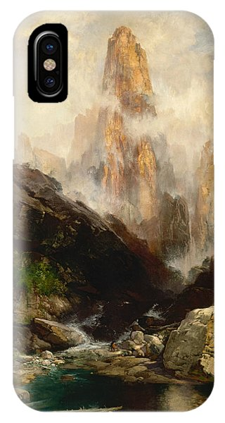 Mist In Kanab Canyon Utah IPhone Case