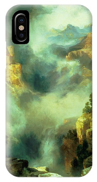 Mist In The Canyon IPhone Case