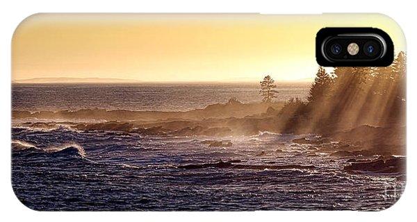 Mist Off The Coast Of Maine IPhone Case